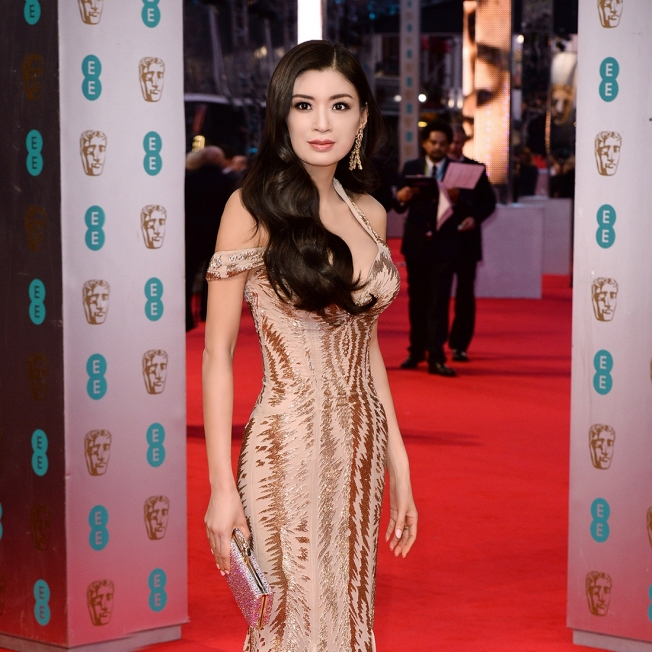 Rebecca Wang supports the 67th BAFTA Film Awards