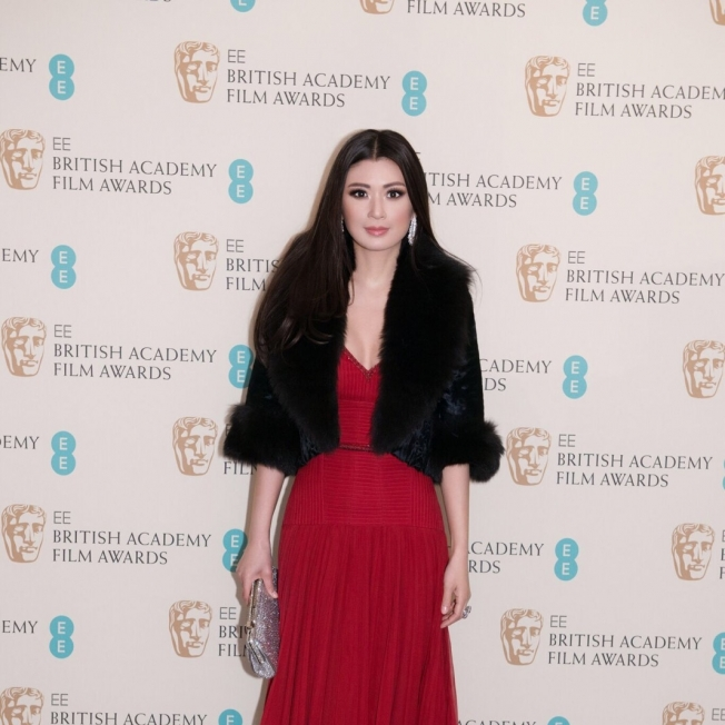 Rebecca Wang supports the 69th BAFTA Film Awards