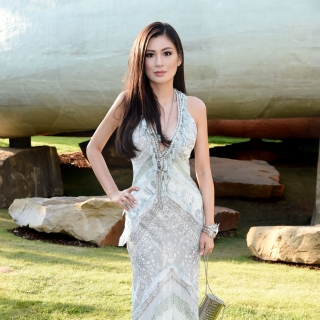 Rebecca Wang attends the serpentine summer party 2013