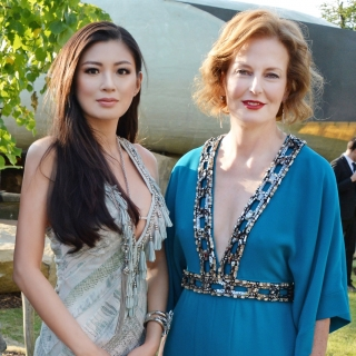 Rebecca Wang and Director Julia Peyton-Jones attend the serpentine summer party 2013