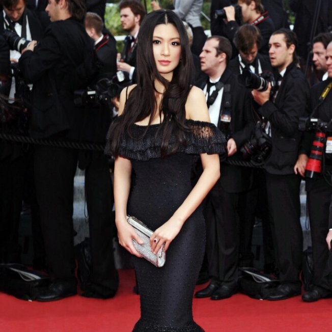 Rebecca Wang attends Cannes film festival