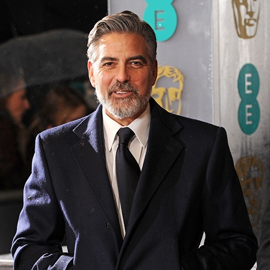 George Clooney at the 66th BAFTA Film Awards