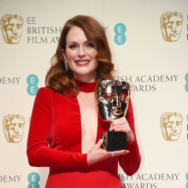 Julianne Moore at the 68th BAFTA Film Awards